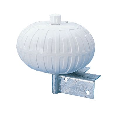Your dock will look better, and youll feel a lot more comfortable about approaching it in wind and high waves when you install one of these adjustable Corner Wheels. They are especially effective as they roll easily and divert an errant approach. Smooth-rolling wheel boasts heavy-duty, hot-dipped galvanized mounting hardware. Constructed from nylon-reinforced vinyl with a built-in air valve to adjust firmness. Per each. Available: 9 diameter Type: Dock Hardware. - $55.88