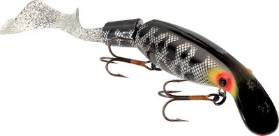Fishing The first strike from a huge Muskie or Northern Pike will make you a believer in this lure. The Super Believer is designed to attract big-hitting fish, no matter if youre casting or trolling. This double-eye, dual-level diving lure is hollow on the inside and constructed with hard plastic to take savage strikes season after season. The added attraction of a soft-plastic tail section exhibits a live quality to the action. Per each. Size: 9. Weight: 2 oz. Colors: (008)Black Sucker, (017)Perch, (038)Hot Walleye (not shown), (041)Fluorescent Tiger, (050)Nine Dollar Bass, (064)Cisco, (701)Orange Tiger. Color: Orange. - $22.99