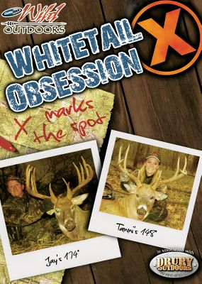 Hunting Tag along with Jay Gregory and the Wild Outdoors Pro Staff as they take you through the numbers game of hunting big bucks. Available: In Whitetail Obsession 9, Jay Gregory and family take you through the trials and tribulations of hunting big deer. Over 20 hunts from 2008. 150+ minutes. DVD. In Whitetail Obsession 10, watch the Wild Outdoors team on 20 exciting bowhunts. Be there when Jay and Tammi Gregory double up on 180 and 193 late-season whitetails from the same ground blind! Wyatt Gregorys in on the action as well, with a 150-class bad boy. 150 minutes. DVD. In Whitetail Obsession 11, follow the Wild Oudoors team on 15 pulse-pounding, edge-of-your-seat bowhunts for monster whitetails. It features nonstop action from start to finish, and five bucks that score over 160. 150 minutes. DVD. Type: DVD. - $4.88