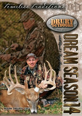 Hunting Track the Drury Outdoors team on its year-long quest for a big-deer fix in Dream Season DVDs. Available: Dream Season 16 is all about family, friends, tradition and, of course, putting down the giant whitetails that keep hunters up at night. Follow the Drury Team through Wisconsin, Iowa, Illinois, Missouri and Texas on 15 hunts, including one that yields a 201 buck for Joe Eugster. 150 minutes. Dream Season 17 delivers hunt after hunt for giant whitetails from Illinois to Iowa. Watch as four Boone-worthy bucks get taken, Jared Lurk searches for the 10-year-old Hightower Buck, Jon Austin Barker gets his first buck and so much more! 142 minutes. Dream Season 18 Two massive Boone-eligible deer are taken this season as the Drury Outdoors team heads to the Midwest an area called The Land Of The Giants for good reason. 17 hunts in total make for a ton of great action from start to finish. 149 minutes. Type: DVDs. - $8.88
