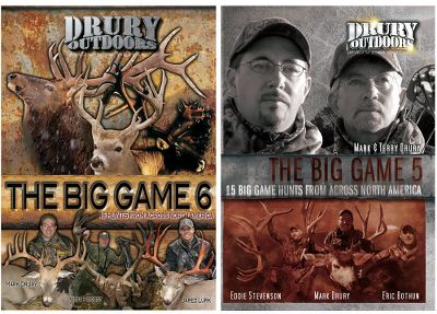 Hunting Watch as The Big Game team takes bear, elk, caribou and two species of deer at locales across North America. Two DVDs. 260+ min. - $19.99