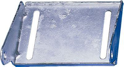 Heavy-duty galvanized panel brackets are contructed of 11-gauge steel. Size: 4. - $13.99