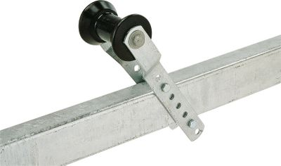 These durable, adjustable offset brackets mount on the trailer tongue to hold a roller for keel support. The offset is 1, and length of the bracket is 11-1/2. Mounts with 3/8 diameter bolts and uses a 5/8 diameter shaft for roller. Available: 2 Wide Tongue 3 Wide Tongue Type: Hardware & Accessories. - $39.99