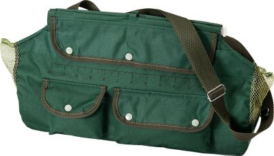 Fishing Its durable canvas construction and mesh side vents keep fish cool. Plastic lining for easy cleanup. Convenient three-pocket design for extra gear. Adjustable carry strap. Imported. Dimensions: 14L x 9W. Color: Green. Size: JUMBO. Color: Green. Type: Creels. - $10.99