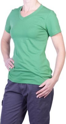 Because were committed to protecting the environment, we asked Earthtec to create a line of environmentally conscious clothing just for you. Crafted of 95/5 organic cotton/spandex, youll appreciate this shirts natural softness and comforting stretch. Machine washable. Imported. Sizes: S-2XL. Colors: Ripe Cherry, Moss. - $9.88