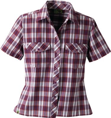 Because were committed to protecting the environment, we asked Earthtec to create a line of environmentally conscious clothing just for you. Crafted of 100% organic cotton, youll appreciate this shirts natural softness and classic outdoor style. Machine washable. Imported. Sizes: S-2XL. Colors: Plum Plaid, Moss Plaid. - $19.88