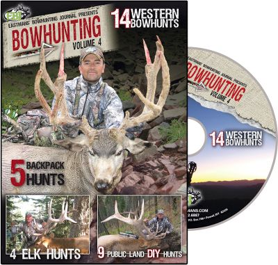 Hunting Watch the experts at Eastmans Bowhunting Journal as they take to the backcountry with their bows. See them hunt do-it-yourself style on nine public land hunts, plus follow along on five exciting hunts throughout the West. Learn how to consistently tag trophy elk and mule deer in the high country from the most respected name in Western hunting Eastmans. 120 minutes. Type: DVD. - $12.99