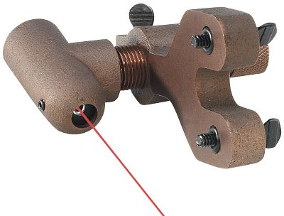 Hunting Now you can determine bullet-hole perfect center shot with laser precision. Ultra-fast and simple to use for the novice or seasoned expert, all you have to do is attach Eze-Center to the bow's sight-mount holes with the included thumb screws, turn it on and aim the laser dot towards bowstring. Adjust the windage until the laser dot is centered on string then swivel and position the laser dot on the point end of a nocked arrow. Adjust the rest windage until the laser dot is centered on arrow. Remove laser, install sight and you're ready to shoot through paper. Can also be used to check cam and limb alignment. Unit requires three LR-44 batteries, not included. Type: Bow Tuning & Maintenance. - $94.88