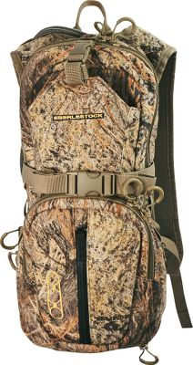 Hunting Engineered for hunters who want to go fast and light, this pack merges the best attributes of a hydration pack, day pack and hunting vest into one versatile unit. The expansion system opens into a tunnel for an optional side scabbard using PALS/MOLLE compatible webbing. Carry the pack around your waist using the pullout hip belt. Deployable bird bag alleviates the need to carry an additional bird bag. Deep pocket for a tripod, an organizer pocket and a grapple compression strap that holds equipment in place. Includes a 3-liter hydration bladder with an antibacterial, stain-resistant Glass-like liner. Lifetime manufacturers warranty. Imported. Color: Western. - $149.99