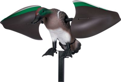 Hunting Full-size drake green-wing teal, with plastic wings. Aerodynamic wing design for extended battery life. Remote ready (not included). Requires four AA batteries (not included). 42 stake. Endorsed by the Duck Commander. - $39.88