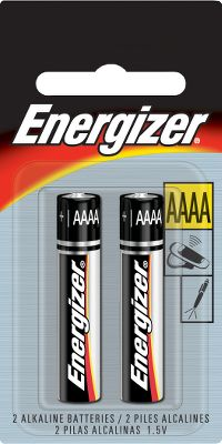 Camp and Hike Energizer batteries deliver dependable, powerful performance, providing long life for your electronic devices. Available: Two-pack, Four-pack, Eight-pack. Size: AAA 2PK. Type: Batteries. - $2.99