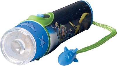 Camp and Hike Fun and easy to operate, the Energizer Disney Cars LED Flashlight glows with super-bright white LEDs and boast eye-catching graphics from famed Disney movies. Features a slide switch with momentary on/off button for preserving battery life. Convenient wrist lanyard keeps the light in kids hands and includes an exciting toy charm for added flair. Small profile is easy for tiny hands to grip, grab and carry. Glowing lens ring. Operates on two AAA batteries (included). 9.1L x 4.3W x 1.7H. Color: White. - $7.99