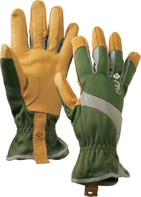 Style and function come together in versatile gloves that are packed with performance. The backs of the hands are crafted of skin-pleasing, moisture-wicking bamboo-fiber fabric, while the palms and reinforced fingertips are supple, yet durable goatskin. An extended cuff supplies added protection for your wrist. Machine washable. Imported.Sizes: S, M, L.Color: Green. - $17.88