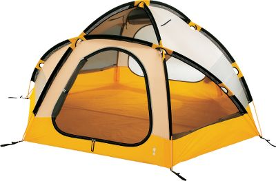 "Camp and Hike Eureka! K-2 XT Tent is an exceptionally roomy, all-season tent loaded with extreme-weather performance features. Tear-resistant 70-denier nylon-taffeta floors with a 3,000mm water-resistant coating lock out moisture. Walls are made of long-lasting 70-denier nylon taffeta, and the fly features tough 74-denier StormShield polyester ripstop with a 1,800mm water-resistant coating. The four-pole tents frame is made of durable 9mm 7001-T aluminum, and it has post and grommet corner attachments, clips, mesh rod sleeves and an external vestibule hoop for easy setup. Two zippered vents in the roof and sidewalls with two scoop vents in the fly for year-round comfort. High-low venting twin-point front vestibule and 40-denier No-See-Um mesh. Includes a 14-pocket organizer wall, four gear-loft loops and a flashlight loop. Imported. Weight: 11 lbs. 12 oz.. Type: Backpacking Tents. Sleeping Capacity: 2 Person. Pack Size (in.): 7.5"" x 25"". Minimum Weight: 11 lbs. 12 oz.. Floor Size: 8'11"" x 7'8"". Center Height: 4'. Tent Style 3-Person. - $479.90"