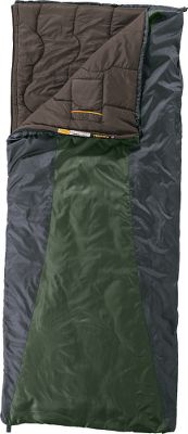 "Camp and Hike Exclusive to Cabelas, the Cheyenne +40 Sleeping Bag is packable, lightweight and warm its just what the serious backcountry backpacker needs. Insulated with Rteq, this proprietary blend of lightweight polyester fibers delivers high-loft warmth and the compressibility to pack down small. Its durable shell is 66-denier polyester and its 75-denier liner is a peached polyester that boasts a fuzzy, warm-to-the-touch feeling that adds extra comfort in any condition. Ergonomically placed internal pocket with a hook-and-loop closure keeps essentials close at night. Two-way, self-repairing, No. 5 YKK zipper. Compression sack included. Imported.Temperature Rating: +40. Fill Weight: 1 lb. 5 oz.. Gender: Unisex. Type: Rectangle Sleeping Bags. Temp Rating: 40&degF and above. Shoulder Circumference: 68"". Model: Cheyenne +40. Dimensions: 80"" x 34"". Carry Weight (lbs.): 3 lbs.. Liner: Peached Polyester. Storage: 17"" x 9"" Coated Stuff Sack Ripstop Polyester. Temperature Rating: +40&degF. Shell Material: StarGaze Polyester ripstop. 40 Deg. - $49.88"