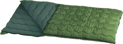 Camp and Hike Affordable warm-weather camping comfort is yours with this lightweight sleeping bag. Polyester shell and liner. 4-lb. hollow-fiber fill. Imported. Dimensions: 35 x 77 Fill weight: 4 lbs. - $25.88