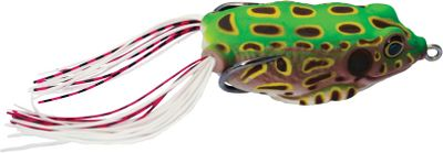 Fishing Internal beads create a low-pitch rattle that tempts the big ones out of hiding. Vivid, detailed patterns and lifelike, side-to-side actions draw aggressive strikes. Made of pliable, durable plastic, the soft body collapses for unobstructed, rock-solid hooksets. Per each. Size: 2.6.Weight: 0.6 oz. Colors: (001)Leopard Brown, (002)Leopard Green, (003)Leopard Yellow, (004)Ghost. - $7.99