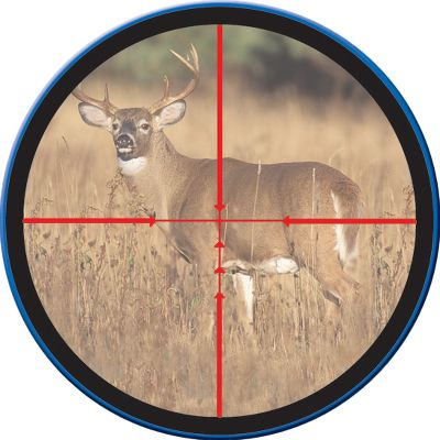 Hunting Features a dual-color reticle for excellent low-light performance. Adjustable multiplex crosshair system lets you adjust crosshair spacing at precise 10-yard increments to match crossbow trajectory at velocities between 250 and 350 fps. Aim points up to 60 yards. - $104.88