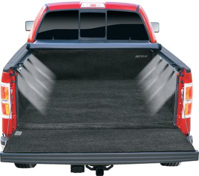 Light up an entire truck bed with the flip of a switch. Perfect under hard and soft tonneau covers, the B-Light kit illuminates every corner of the bed with eight high-intensity, 6-LED light blocks. The blocks install under the bedrail, protecting them from shifting cargo. Available: B-Light Rocker switch and wire for 12-volt installation included. Battery Operated Requires three AA batteries (not included). - $69.99