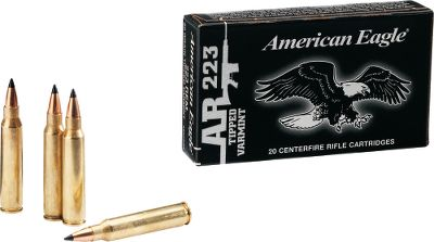 Hunting American Eagle Tactical Ammunition is loaded to military specifications for reliable functioning and consistent accuracy. Youll find this ammunition is very suitable for precision practice and an affordable option for the target board. Made in USA. Type: Centerfire Rifle Ammunition. - $7.49