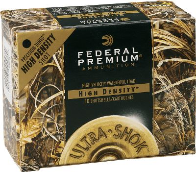 These shells from Federal have up to 20% more soft tungsten-iron pellets than comparable steel shot loads. Pellets are also 20% softer than steel with 15% lower wind drift. Uniform pellet size means consistent, tight patterns. 10 shells per box. 10 boxes per case. - $379.99