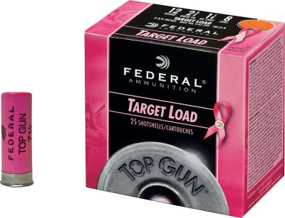 Guns and Military Support breast cancer research with these limited-edition, pink-hull loads. Federal will donate a portion of the sales of these Hulls for Healing shells to support the fight against breast cancer and find a cure. Only available in 12-ga., 2-3/4 No. 8 loads, these shells feature clean-burning powder, eight-segment crimps and hard, high-quality shot. 25 shells per box, 10 boxes per case. 1145 fps. Sold per case. Color: Pink. - $69.99