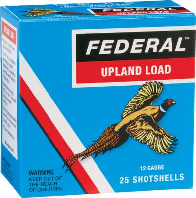 Hunting Cabelas and Federal have teamed up to bring you an affordable line of shotshells with the proven bird-dropping effectiveness upland hunters demand. Choose your ideal load from a variety of shot sizes and velocities to hunt everything from quail to pheasant. Nostalgic packaging. 25 shells per box. Made in USA. - $9.88