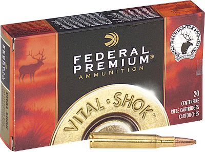 Hunting Federal Premium 6mm ammunition delivers the consistent power and flawless performance you need for big game. The Nosler Partition bullet provides the ultimate in accuracy, controlled expansion and weight retention. 20 per box. - $37.99