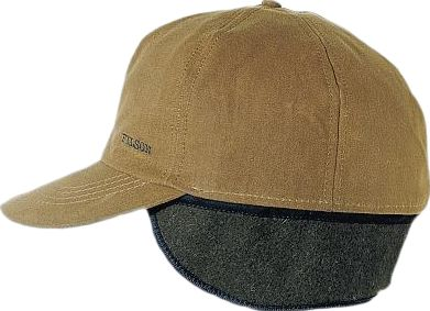 Hunting Filsons Insulated Tin Cloth Cap has a 100% acrylic Ten Mile cloth crown and 100% cotton oil-finish Tin Cloth bill. The crown is insulated with polyester quilting to help keep your body heat from escaping through your head. In addition, there are concealed Mackinaw wool earflaps you can fold down for extra warmth. Made in USA.Sizes: S-2XL. Color: Tan. Type: Caps. Size: Small. Camo Pattern: TAN. Size Small. Color Tan. - $44.00