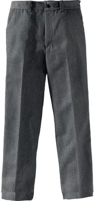 Own the very best from a company with a longstanding reputation for uncompromising quality. These pants are crafted of 17-oz. virgin whipcord wool, a Filson signature fabric known for its heavyweight strength and long-wearing durability. Ordinary pants simply cant compare. Details include straight legs, zipper fly, button closure at waist, two back welt pockets and front slash pockets. Made in USA.Inseam: 32.5. Even sizes: 6-16.Color: Dark Grey. - $190.00