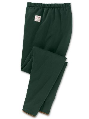 Hunting Warmth without the bulk and incredible breathability, too. Made of 100% Polartec Thermal Pro polyester knit, these quick-drying pants are perfect for everything from relaxing around the house to outdoor work or sport. Features a smooth knit shell for easy-on, easy-off layering with a high-loft sheared-fleece interior boasting one of the highest warmth-to weight ratios available. Lycra binding at the hems for a secure fit. Elastic waist. Tapered legs. Machine washable. Made in USA.Sizes: S-2XL.Color: Green. Type: Pants. Size: 2 X-Large. Camo Pattern: GREEN. Size 2xl. Color Green. - $95.00