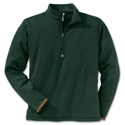 Hunting Versatility is the name of the game with this fleece top from Filson. Pair it with some fleece pants for a lazy Sunday at the cabin, or match it up with your favorite jeans and hit the outdoors. Made of 100% Polartec Thermal Pro polyester knit for breathable warmth without the weight. The shell is a smooth knit jersey for easy-on, easy-off layering. Warmth on the inside comes from a high-loft sheared fleece with one of the highest warmth-to weight ratios available. Lycra binding on the cuffs adds a bit of stretch for a more custom fit. Zippered collar. Hanging loop at neck. Machine washable. Made in USA.Sizes: S-2XL.Color: Green. Type: Base Layer Tops. Size: Small. Camo Pattern: GREEN. Size Small. Color Green. - $95.00