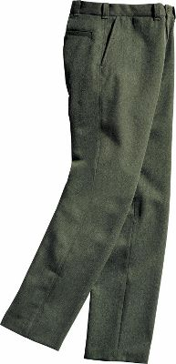 Hunting Never out of place, these durable and supple wool pants are extremely long-wearing and highly abrasion-resistant. Made of strong whipcord worsted wool with a hard diagonal ribbed surface thats naturally water-repellent they feature four roomy pockets plus a watch pocket. Seven belt loops accommodate belts up to 1-1/2. Brass zipper fly. Tapered legs. 17-oz. 100% virgin wool. Dry-clean only. FREE hemming up to 36. Made in USA.Even waist sizes: 30-48.Colors: Gray, Green. Type: Pants. Size: 36. Camo Pattern: GRAY. Size 36. Color Gray. - $236.00