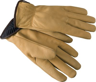 Fine-grained, thin goatskin makes these gloves tough yet still provides you with a good sense of touch for a flexible, comfortable fit. Merino wool linings are stitched in to provide ultimate warmth. Wing-cut thumbs provide better ease of movement. Seams are hand-rubbed for comfort. Elastic wrists. Made in USA.Sizes: S-XL.Color: Tan. Type: Gloves. Size: Medium. Color: Tan. Size Medium. Color Tan. - $132.00