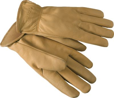 Fine-grained, thin goatskin makes these gloves tough yet still provides you with a good sense of touch for a flexible, comfortable fit. Wing-cut thumbs provide better ease of movement. Seams are hand-rubbed for comfort. Elastic wrists. Made in USA. Sizes: S-XL. Color: Tan. Type: Gloves. Size: X-Large. Color: Tan. Size Xl. Color Tan. - $52.80