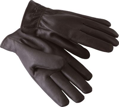 Filsons deerskin gloves are constructed from the highest quality, midweight deerskin. They feature a winged thumb design with seamless palms for maximum flexibility. Elastic wrists make for easy on and off. Hand rubbed for comfort. Made in USA.Sizes: S-XL.Color: Dark Brown. Type: Gloves. Size: X-Large. Color: Dark Brown. Size Xl. Color Dark Brown. - $66.00