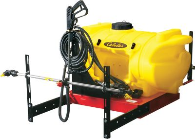 Maximize the utility of your UTV with this sprayer capable of handling a wide range of spraying and broadcast applications. The skid-mount spray system comes ready to work with a 40-gallon polypropylene tank and a 12-volt 3.8 gpm diaphragm pump on a steel frame. There's a 5 screw-on fill cap. The 25 feet of spray gun hose is complimented with a deluxe pistol grip spray gun with an adjustable tip for maximum application control. Adjustable pressure from 0-45 psi. The wet boom design provides extended coverage in a wide, even broadcast spray to cover areas effectively and efficiently while the three nozzle design allows you to shut off each nozzle individually allowing you to create a custom spray pattern to fit your specific needs. Wet boom maximum spray coverage of 30 feet. Deluxe hand wand maximum spray distance of 43 feet horizontally and 26 feet vertically from the nozzle.Available: 40-Gallon. Gender: Male. Age Group: Adult. - $599.99