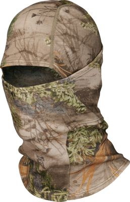 Hunting The warm, 230-gram 100% high-keratin merino wool balaclava provides full-facial protection to withstand cold fall and winter days. First Lite wool fibers are the finest found in nature and produce a material that is soft, durable and can be worn directly against the skin without irritation or itch. The naturally odor-resistant wool absorbs 35% of its weight in moisture and transports moisture away from the skin, controlling odor-causing bacteria and giving you the necessary edge in scent-control management. One size fits most. Imported. Camo patterns: Realtree MAX-1, Mossy Oak Break-Up Infinity. - $36.88