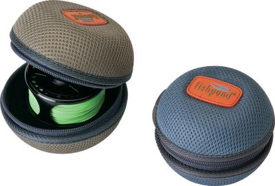 Flyfishing Impact-resistant nylon shell protects your reels on the outside, while foam inserts cushion them on the inside. Sizes available fit most freshwater and saltwater reels. Imported. Sizes: Small 3-1/2 diameter, Ocean. Medium 4 diameter, Shale. Large 4-1/2 diameter, Rust. Size: KODIAK REEL CASE SM. Color: Rust. Type: Reel Cases. - $19.95