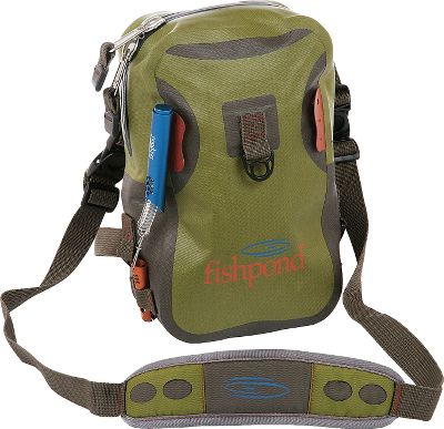 Fishing A versatile, waterproof pack that will hold its own wherever you take it. Dual interior pockets hold your gear, while external attachment points allow you to clip on accessories. The modular design can be attached to the Westwater Backpack (sold separately) for longer trips. Adjustable shoulder straps can be used as a sling. Water-resistant zippers have oversized pulls for quick, easy access in any weather. Heavy-duty 420-denier TPU nylon construction. Imported. Approximate capacity: 183 cu. in. Weight: .65 lbs. Dimensions: 10.25H x 6.5W x 3D. Size: WESTWATER CHEST PACK. Gender: Male. Age Group: Adult. - $29.88