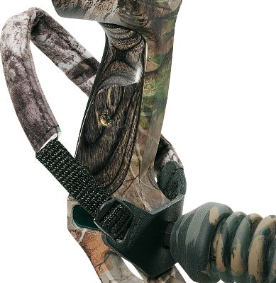 Hunting The Flex Foam padded fleece strap gives extra comfort and support to this wrist sling, and the camo leather stabilizer port won't harm your bow's finish. New quick-pull adjustable buckle system. Color: Camo. Type: Wrist Slings. - $16.99