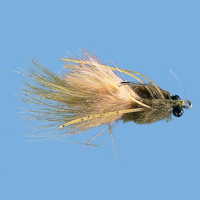 Flyfishing With the action of the rubber legs, these flies look like a tasty treat to passing tarpon, reds and bones. Per each. Sizes: 4, 6. Colors: (009)Olive, (656)Tan. Color: Olive. Type: Saltwater Flies. - $2.88