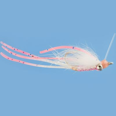 Flyfishing This variation of the popular Crazy Charlie fly has a slender profile with weighted, baitfish eyes and rubber legs. Especially effective for bonefish. Per each. Sizes: 4, 6, 8. Type: Saltwater Flies. - $2.99