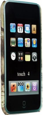 Dress-up your iPod Touch with some eye-catching outdoor attitude. This tough, polycarbonate Cell-Phone Case sports the popular Mossy Oak Break-Up camo finish and is designed to quickly snap around any fourth-generation iPod Touch. Easy access to all buttons and parts. Imported.Camo pattern: Mossy Oak Break-Up. Type: Cell Phone Cases. - $12.99