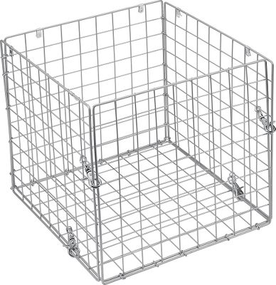 Hunting Keep varmints from damaging your feeder. Includes easy-attach hardware. Hinged door swings open for convenient access. Solid-steel frame. Dimensions: 14-1/4 L x 14-1/4 W x 14-1/4 H. - $29.99
