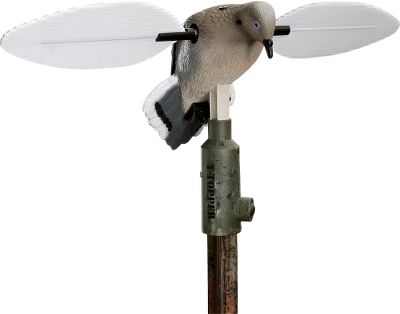 Hunting Compatible with all spinning and stationary Mojo decoys, this topper easily attaches to a standard T-post. Locks down with included stainless steel zip ties for preventing game-camera theft. (Decoy not included.) - $13.88