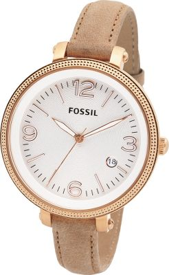 Entertainment This watch features a super-slim, sand-colored strap is accented by a stunning rose gold-tone dial. The large, bold and bright face bears delicate numbers and markers. Water-resistant to 100 meters. Imported.Case diameter:42mm.Case thickness: 11mm. - $86.25