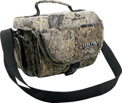 Hunting Protect your caller while on the move. Comes with carry handle and removable shoulder strap for easy transport. Zippered front and end pouches store charger, spare batteries and remote transmitter. Imported. Color: Camo. - $22.88