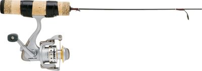 Fishing Technique- and species-specific rods for on-target fishing. Graphite blank-through-handle construction for high-sensitivity bite detection. Aluminum oxide guides. Cork handles. Smooth 3-plus-1 ballbearing ice reel with a machined aluminum spool. Pre-lubed with Sub-Zero protectant. - $34.88