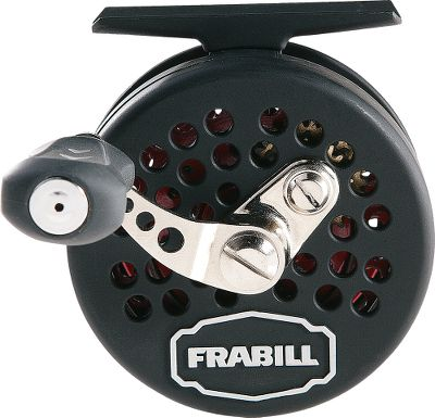 Fishing Thanks to a 2.4:1 reel ratio with super-smooth drag and balanced spool, this reel feeds the line right off the spool, eliminating line coiling and spinning lures. Frabills-exclusive Sub-Zero lubrication ensures smooth operation in the coldest temperatures, and the lightweight composite construction is strong and durable it wont even feel cold in frigid temperatures. Ambidextrous, oversized reel handle for ultimate control. Two roller bearings and one anti-reverse roller bearing. Type: Ice Reels. Size Frabilstra/241 Reel. - $39.88
